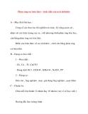 Giáo án Hóa Học lớp 10: Phản ứng oxi hóa khử – tính chất của axit clohdric