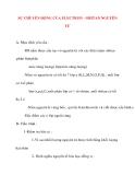 Giáo án Hóa Học lớp 10: SỰ CHUYỂN ĐỘNG CỦA ELECTRON - OBITAN NGUYÊN TỬ