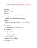 Giáo án Địa Lý lớp 10: SỬ DỤNG BẢN ĐỒ TRONG HỌC TẬP VÀ ĐỜI SỐNG