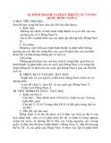Giáo án Lịch Sử lớp 10: SỰ HÌNH THÀNH VÀ PHÁT TRIỂN CÁC VƯƠNG QUỐC ĐÔNG NAM Á