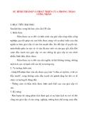 Giáo án Lịch Sử lớp 10: SỰ HÌNH THÀNH VÀ PHÁT TRIỂN CỦA PHONG TRÀO CÔNG NHÂN