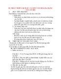 Giáo án Lịch Sử lớp 10: SỰ PHÁT TRIỂN LỊCH SỬ VÀ NỀN VĂN HOÁ ĐA DẠNG CỦA ẤN ĐỘ