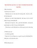 Giáo án Địa Lý lớp 10: THỔ NHƯỠNG QUYỂN CÁC NHÂN TỐ HÌNH THÀNH THỔ NHƯỠNG