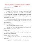 Giáo án Lịch Sử 10: THỜI BẮC THUỘC VÀ CUỘC ĐẤU TRANH GIÀNH ĐỘC LẬP DÂN TỘC