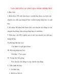 Giáo án Sinh Học lớp 10: VẬN CHUYỂN CÁC CHẤT QUA MÀNG SINH CHẤT