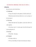 Giáo án Đại Số lớp 10: BẤT PHƯƠNG TRÌNH BẬC NHẤT HAI ẨN (TIẾT 2)