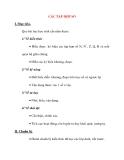 Giáo án Đại Số lớp 10: CÁC TẬP HỢP SỐ