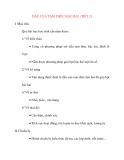 Giáo án Đại Số lớp 10: DẤU CỦA TAM THỨC BẬC HAI (TIẾT 2)