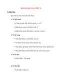 Giáo án Đại Số lớp 10: HÀM SỐ BẬC HAI (TIẾT 2)