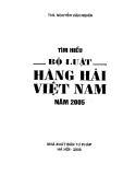 Tìm hiểu Bộ luật hàng hải Việt Nam part 1