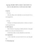 Thực hành: TÌM HIỂU NHỮNG CƠ HỘI VÀ THÁCH THỨC CỦA TOÀN CẦU HÓA ĐỐI VỚI CÁC NƯỚC ĐANG PHÁT TRIỂN
