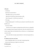 GIÁO ÁN ĐẠI SỐ 12: CỰC TRỊ CỦA HÀM SỐ
