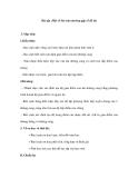 Bài tập :Một số bài toán thường gặp về đồ thị