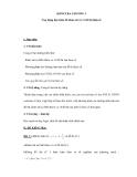 Đề kiểm tra Toán 12 chương 1 - Ứng dụng đạo hàm để khảo sát và vẽ đồ thị hàm số