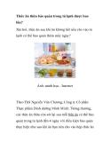 Thức ăn thừa bảo quản trong tủ lạnh được bao lâu?