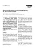 """Báo cáo khoa học: """" Effect of ultraviolet radiation on the hatchability and survival of eggs and larvae of sheep nematode"""""""
