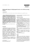 """Báo cáo khoa học: """"Radiographic diagnosis of diaphragmatic hernia: review of 60 cases in dogs and cats"""""""