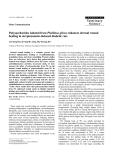 "Báo cáo khoa học: ""Polysaccharides isolated from Phellinus gilvus enhances dermal wound healing in streptozotocin-induced diabetic rats"""