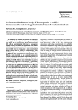 """Báo cáo khoa học: """" An immunohistochemical study of chromogranin A and Sp-1 immunoreactive cells in the gastrointestinal tract of ovariectomized rats"""""""