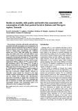 """Báo cáo khoa học: """"Studies on mastitis, milk quality and health risks associated with consumption of milk from pastoral herds in Dodoma and Morogoro regions, Tanzania"""""""