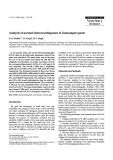 "Báo cáo khoa học: "" Analysis of normal electrocardiograms of Jamunapari goats"""