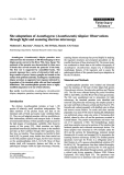 """Báo cáo khoa học: """"Site adaptations of Acanthogyrus (Acanthosentis) tilapiae: Observations through light and scanning electron microscopy"""""""