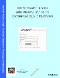 Build Private Clouds with Ubuntu 10.10