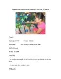 Sáng kiến kinh nghiệm môn mỹ thuật lớp 3 – bài vẽ đề tài mùa hè
