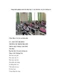 Sáng kinh nghiệm môn âm nhạc lớp 3 – học hát bài em yêu trường em