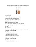 Sáng kinh nghiệm môn âm nhạc lớp 3 – ôn tập các bài hát âm nhạc