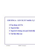 Công nghệ sản xuất các chất vô cơ (ThS. Nguyễn Văn Hòa) - Chương 6