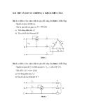 Bài tập và đáp án chương mạch điện 3 pha