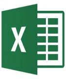 Quản lý dữ liệu với Excel