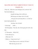 Giáo án Công Dân lớp 10: Bài14 CÔNG DÂN VỚI SỰ NGHIỆP XÂY DỰNG VÀ BẢO VỆ TỔ QUỐC (TT)