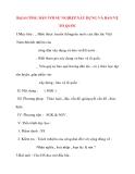 Giáo án Công Dân lớp 10: Bài14 CÔNG DÂN VỚI SỰ NGHIỆP XÂY DỰNG VÀ BẢO VỆ TỔ QUỐC