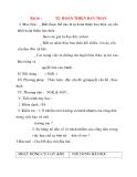 Giáo án Công Dân lớp 10: Bài16 :TỰ HOÀN THIỆN BẢN THÂN