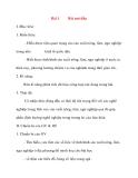 Giáo án Công Nghệ lớp 10: Bài 1 Bài mở đầu
