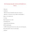 Giáo án Công Nghệ lớp 10: Bài 20: Ứng dụng công nghệ vi sinh sản xuất chế phẩm bảo vệ thực vật