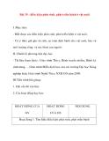 Giáo án Công Nghệ lớp 10: Bài 35 : Điều kiện phát sinh, phát triển bệnh ở vật nuôi