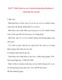 Giáo án Công Nghệ lớp 10: Bài 37 : Một số loại vac xin và thuốc thường dung để phòng và chữa bệnh cho vật nuôi