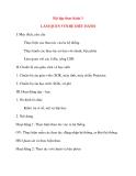 Giáo án Tin Học lớp 10: Bài tập thực hành 3 LÀM QUEN VỚI HỆ ĐIỀU HÀNH