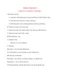 Giáo án Tin Học lớp 10: Bài tập và thực hành 5 THAO TÁC VỚI TỆP VÀ THƯ MỤC