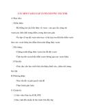 Giáo án Hình Học lớp 10: CÂU HỎI VÀ BÀI TẬP CUỐI CHƯƠNG VECTOR