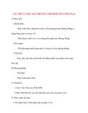 Giáo án Hình Học lớp 10: CÂU HỎI VÀ BÀI TẬP PHƯƠNG TRÌNH ĐƯỜNG THẲNG(1)