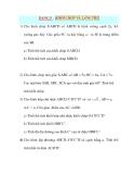Giáo án Hình Học lớp 10: DẠNG 5 : KHỐI CHÓP VÀ LĂNG TRỤ
