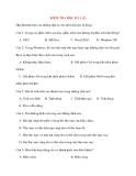 Giáo án Tin Học lớp 10: KIỂM TRA HỌC KỲ 1 (2)