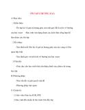 Giáo án Hình Học lớp 10: ÔN TẬP CHƯƠNG II (1)
