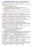 Tuyển tập các bài tập phần cơ học
