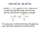 Bài giảng về Lý thuyết đồ thị