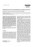 "Báo cáo khoa học: "" Organotypic slice culture of the hypothalamic paraventricular nucleus of rat"""